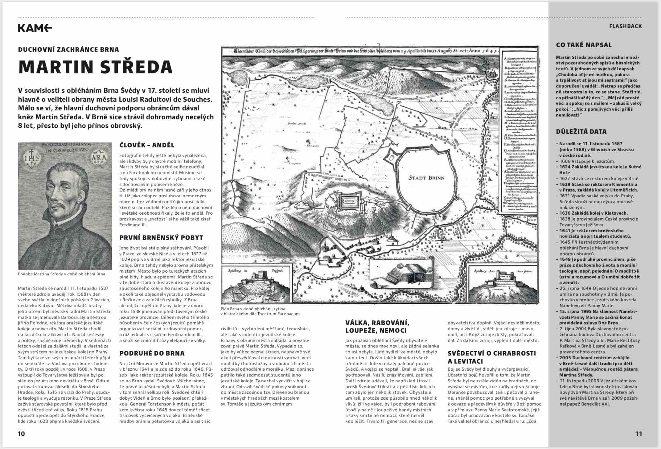 Článek o Martinu Středovi z časopisu Kam v Brně od autora Martina Ježka